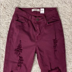 BUNDLE ONLY Vibrant MIU high wasted pants.